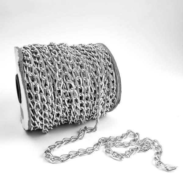 цепочка 1х1,5 см, никель