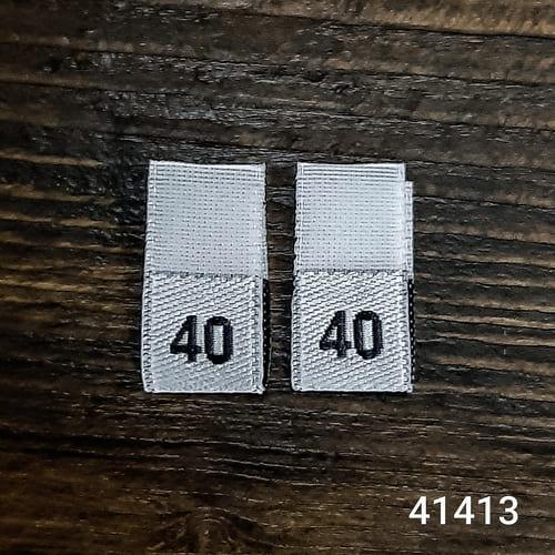 вышивка размерники  40