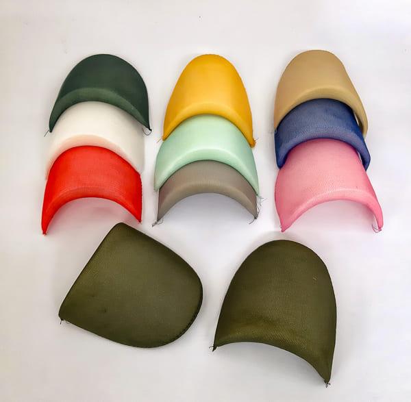Плечевые накладки плечики большие цветные плотные