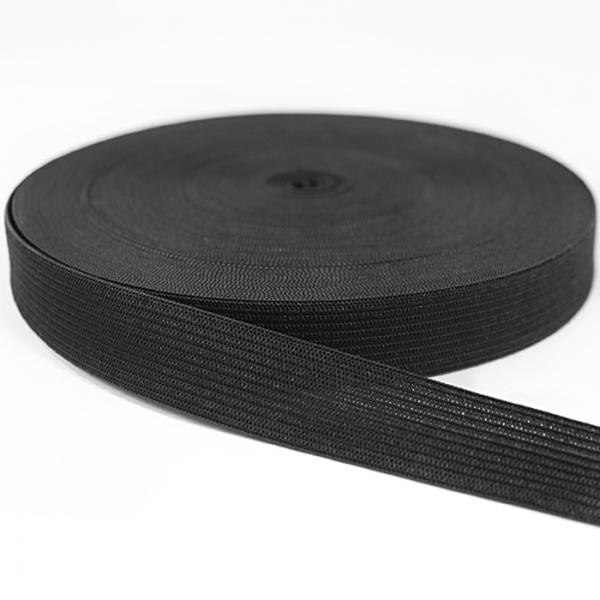 резинка  1.5 см, черная