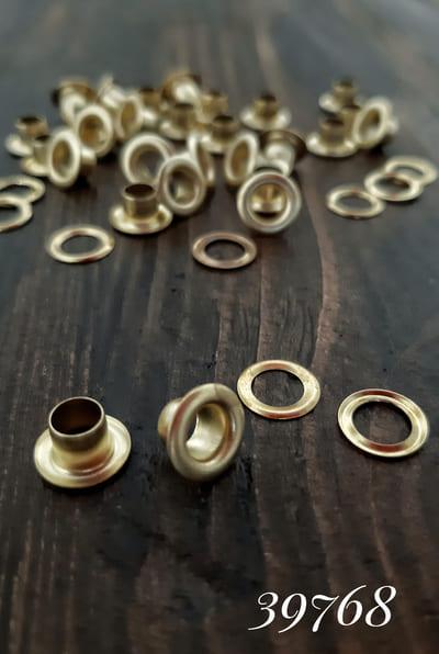блочка золото, 5 мм + кольцо-антимагнит