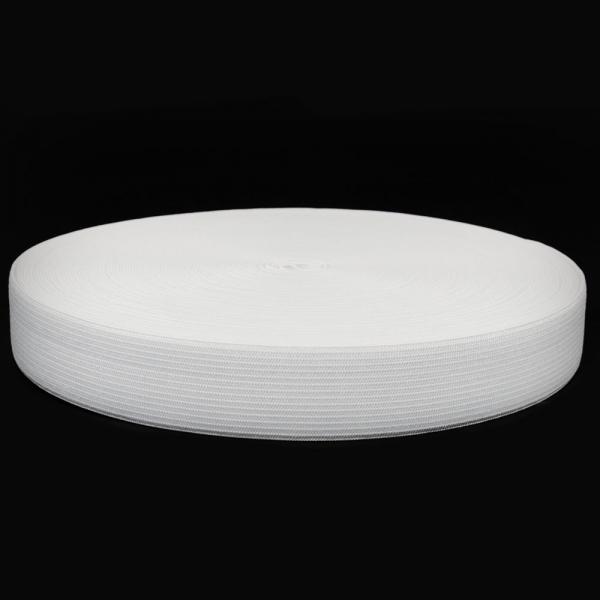 резинка  3.5 см, белая