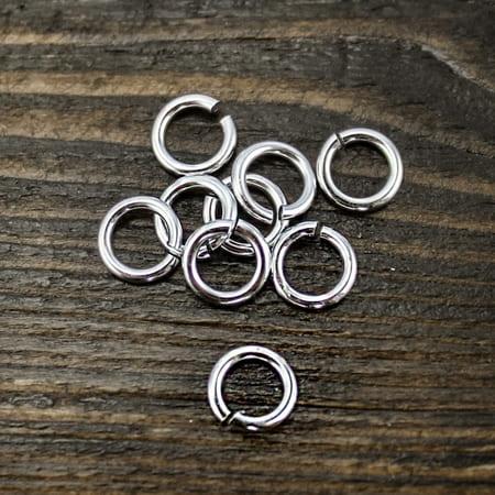 Фурнитура для бижутерии кольцо 5мм