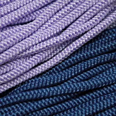 Канат, плетение 2х4 с флизелином, 6 мм
