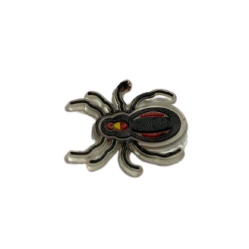 бирка-резинка паук, 3х2,5 см