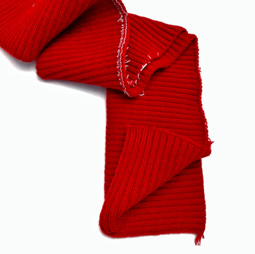 Резинка довяз, красная