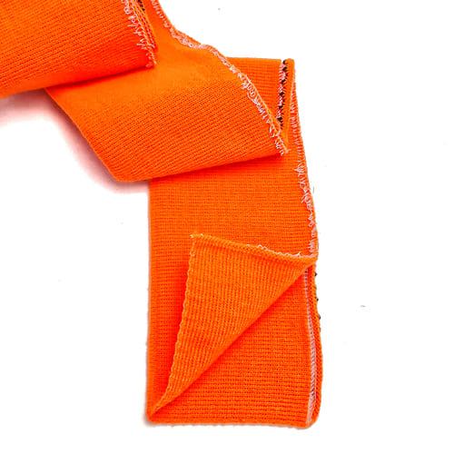 Резинка манжетная довяз, оранжевая