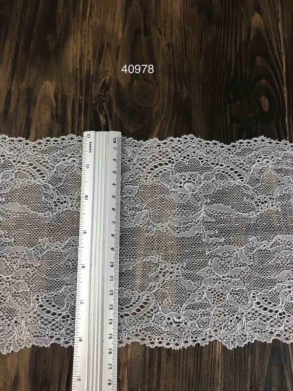 Кружево французское, серебро 16.5 см