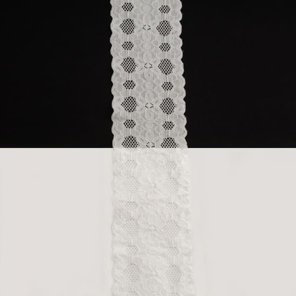 Кружево Италия белое, 6 см