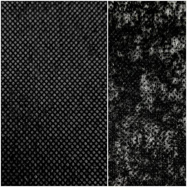 Флизелин Class чёрный, 40 грамм, 90 см