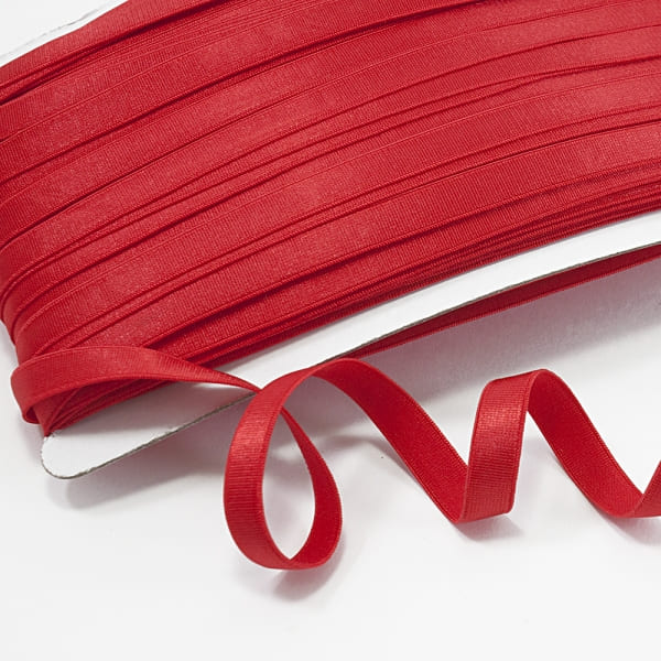Резинка для бретель красная, 1 см