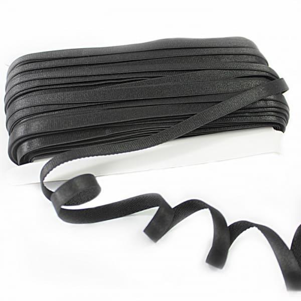 Резинка для бретель черная, 1.5 см