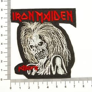 Аппликация клеевая Iron Maiden