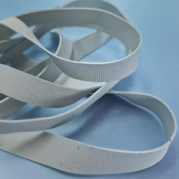 Резинка для купальника белая, 6 мм