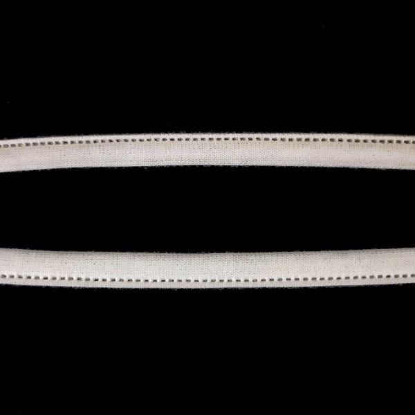 лента туннельная, белая натуральная, 10 мм