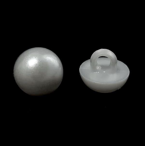 пуговица жемчужина белая, 10 мм