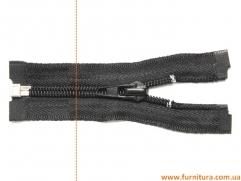 Молния спиральная черная, 45 см
