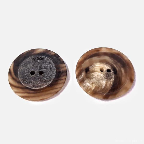 пуговица коричневая мультиколор