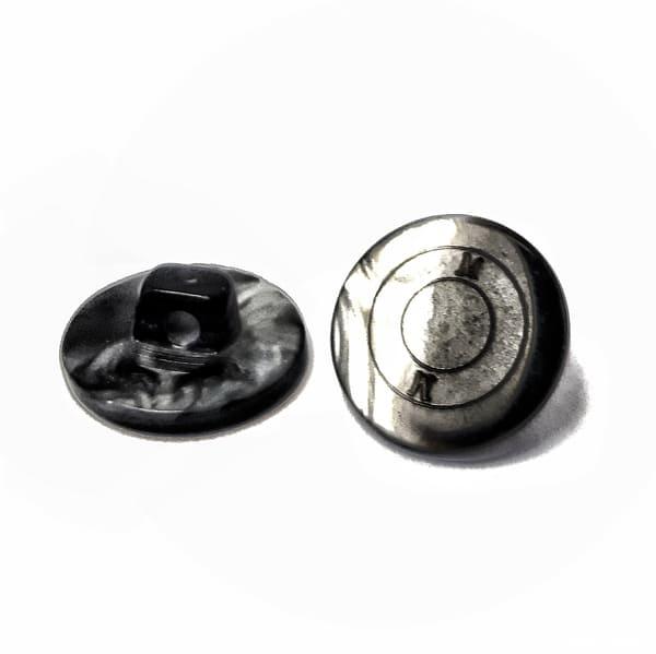 пуговица серо-черная перламутровая