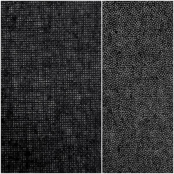 Дублерин воротничковый чёрный 127, 90 см