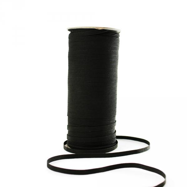 Резинка бельевая  черная, 5 мм