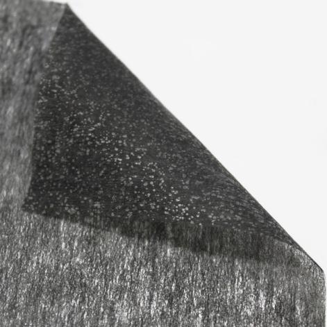 Флизелин Egetela чёрный, 70 см