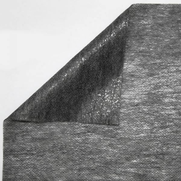 Флизелин Ancle George чёрный, 70 см