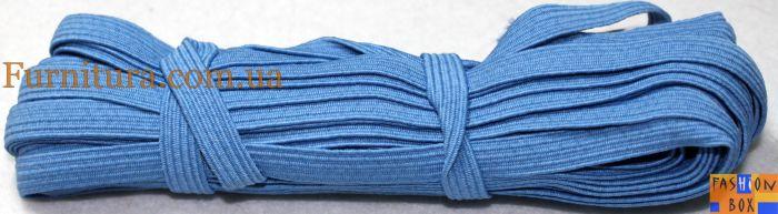 Резинка бельевая голубая, 1см