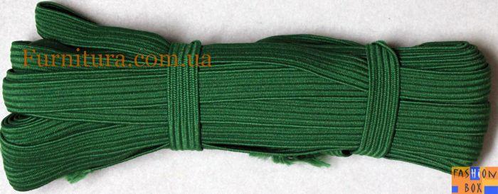 Резинка бельевая зеленая, 1см