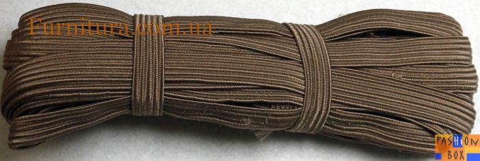Резинка бельевая коричневая, 1см