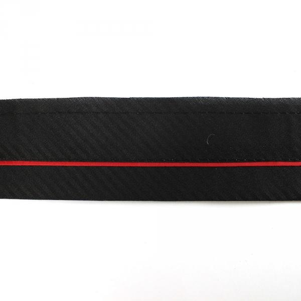 Корсажная лента красная, 5.5 см