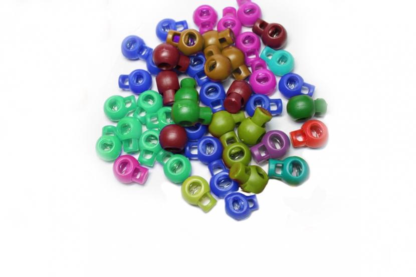 Стопор Бирюзовый шарик, 15 мм