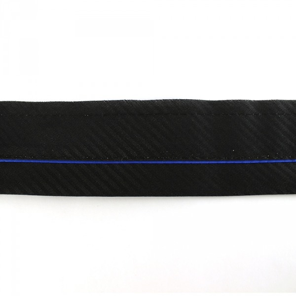 Корсажная лента синяя, 5.5 см