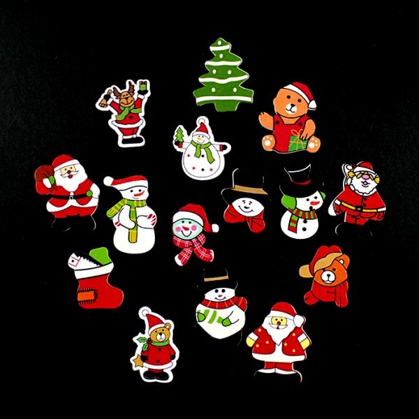 Деревянный декор-новогоднее ассорти