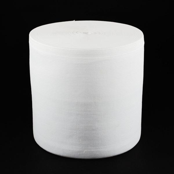 Резинка бельевая белая, 15 см