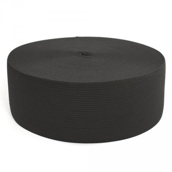 Резинка бельевая черная, 6 см