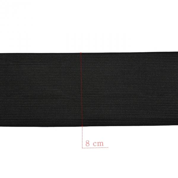 Резинка бельевая черная, 25 м