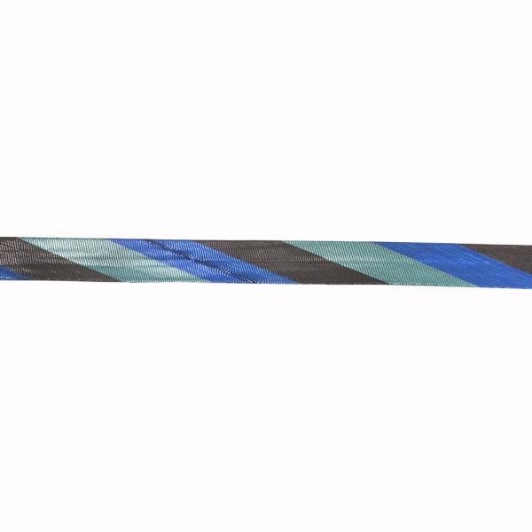 Косая бейка из парчи, 16 мм