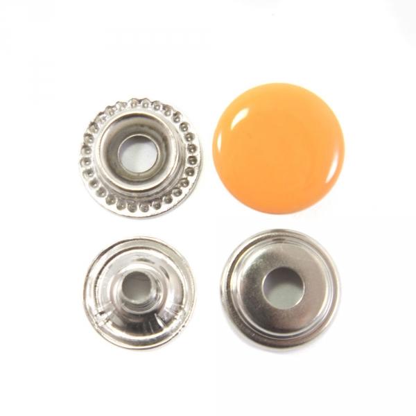 Кнопка оранжевая, 15 мм