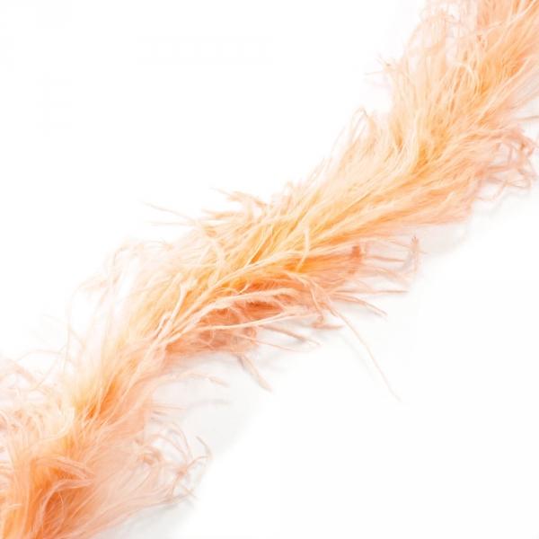 Боа пух персик, 2 м