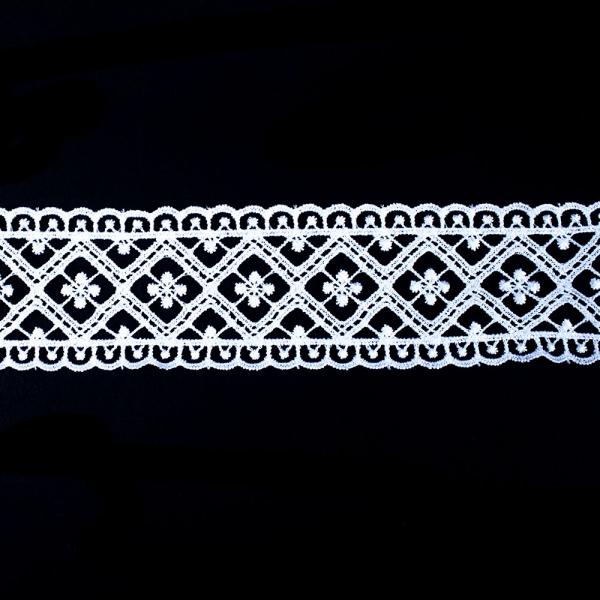 Кружево белое, 5 см