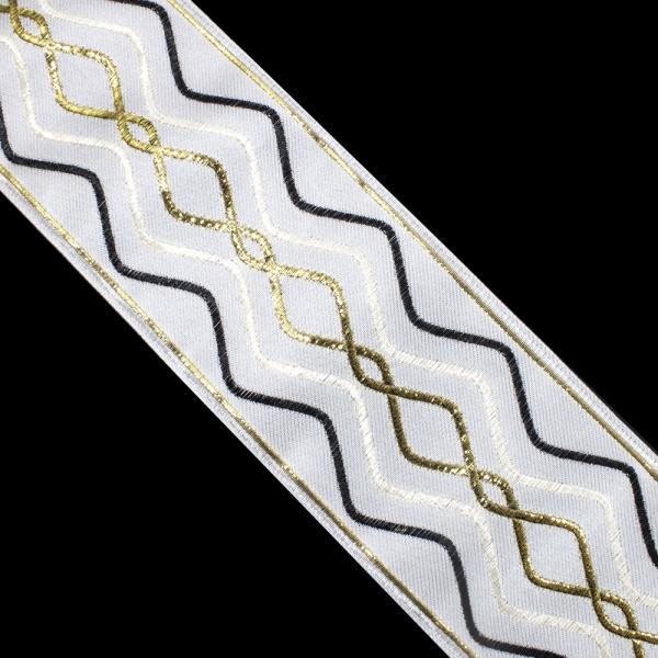 Тесьма текстильная, 9 см