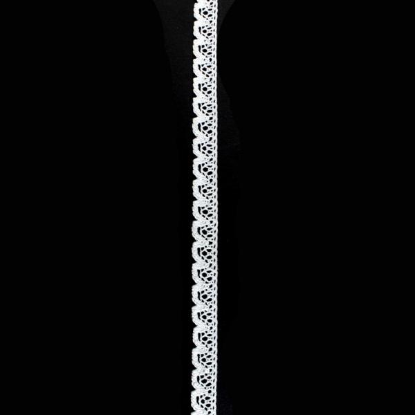 Кружево кроше белое, 1.5 см