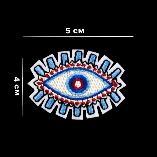 Аппликация клеевая Глаз, 5х4 см