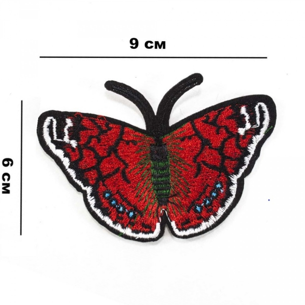 Аппликация клеевая Бабочка, 9х6 см