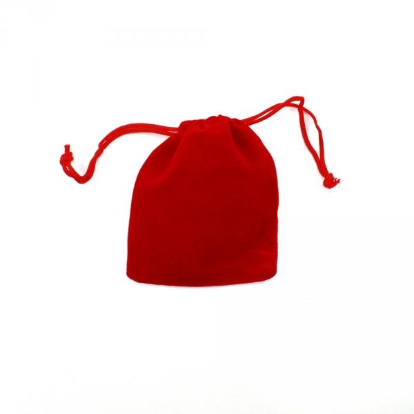 Мешочек для упаковки 7х9 см, красный