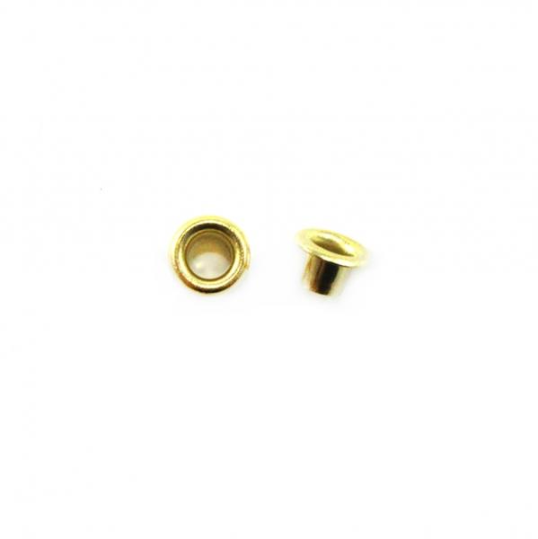 Блочка золото, 3 мм