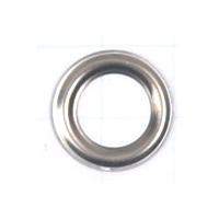 Кольцо под блочку никель, 3мм