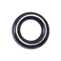 Кольцо под блочку оксид, 4мм