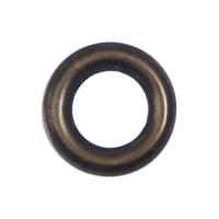 Кольцо под блочку антик, 6мм
